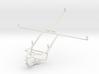 Controller mount for PS4 & Plum Ten 3G 3d printed