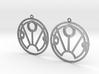 Sunny - Earrings - Series 1 3d printed