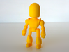 Toy Robot 3d printed 3D Printed Toy Robot