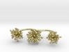 Triple Starburst Ring 3d printed