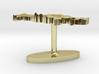 Russian Federation Terrain Cufflink - Flat 3d printed