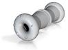 Donut plugs 1/2 gauge  3d printed
