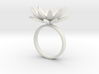 Daisy Ring Size M 3d printed