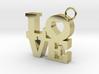 LOVE-Pendant 3d printed
