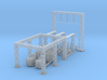 Electric Sub Station Z Scale Revised 3d printed