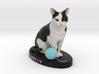 Custom Cat Figurine - Molly 3d printed