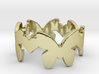 DancingButterfly Ring Size 7.5 3d printed