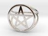 Pentacle ring (customize) 3d printed