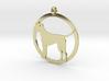 Irish Terrier charm 3d printed