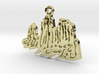 The Mountain: Torres del Paine / Pendant 3d printed