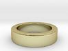 Men's Size 10 US Single Bubble Ring 3d printed