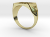 University of Kentucky SIGNET Ring (Size 12.5 USA) 3d printed