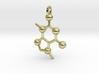 Chocolate Molecule 3d printed