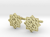 Alhambra Nazari Arab Cufflinks 3d printed