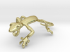 Gecko_Pendant_Head 3d printed