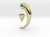 Magnetic Horn Earring 3d printed