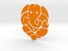 Ganesh ji (Pandent) 3d printed