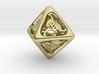 Tengwar Elvish D8 3d printed