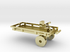 Chassis with front wheel assembly 3d printed
