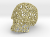 Large Carved Skull - Plastic/Stone/Metal 9.38cm 3d printed