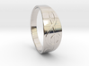Size 10 M G-Clef Ring  3d printed