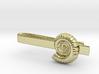 Ammonite Tie Bar 3d printed