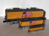 UP Water Tender O Scale 1:48 Jim Adams 3d printed O, HO and N Scale Tenders
