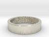 Fingerprint Ring - His 3d printed