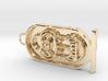 Tutankhamen's Throne Name 3d printed Necklace of King Tutankhamen's throne name in a cartouche.