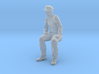 1:20.32 scale Pippin Engineer Sitting 3d printed Available in any scale