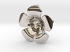 Lotus Pearl Pendant 3d printed