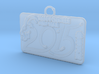 Chinese New Year 2015 Goat Year Pendant 3d printed
