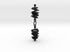 Orbital Drift Earrings 3d printed