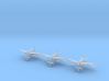 Douglas B-18 Bolo variants Sprue 1/700 (x6) 3d printed