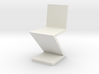 1:24 Zig Zag Chair 3d printed