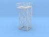 'N Scale' - 8'x8'x20' Tower Top 3d printed