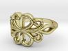 Swirl Ring 3d printed