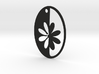 Simple Flower pendant 3d printed