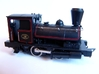 """Spark Arrestor for the L&YR """"Pug"""" 3d printed Fitted to a Dapol model"""