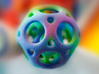 Colorized Dodeca Ball 3d printed