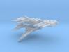 1:700 StarBlazers Yamato Turret (elevated guns) 3d printed