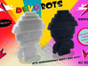 DevoBots Series 1 B/W & Red STRIPE Jerry 3d printed