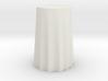 """1:24 Draped Bar Table - 36"""" diameter 3d printed"""