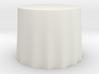 """1:24 Draped Table - 36"""" diameter 3d printed"""