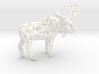 Wireframe Moose 3d printed