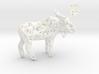 Wireframe Moose 3d printed
