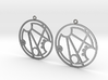 Gracee - Earrings - Series 1 3d printed