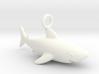Shark Necklace Pendant 3d printed