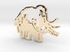 Caveman-designed Caveman Diet Keychain 3d printed
