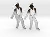 Michael Jackson Earrings Ver.4 3d printed